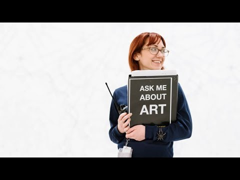 Exploring art with Gallery Guides- Hirshhorn Museum