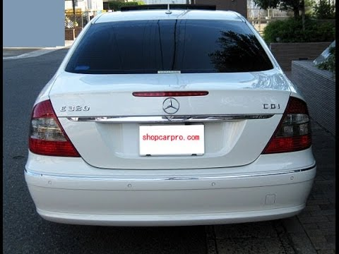 2006 Mercedes Benz ベンツ W211 Rear リア Door Panel 内張り Removal 取り外し