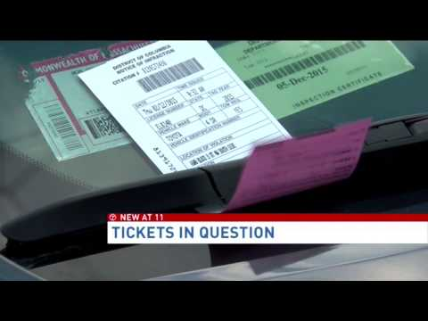 Were slew of D.C. parking tickets issued illegally?