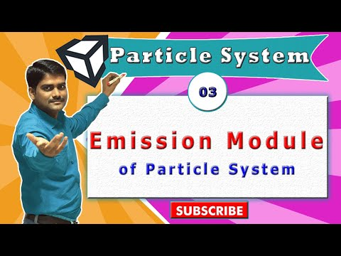 Unity Particle System Essentials - 03 - Emission Module All Properties Explained