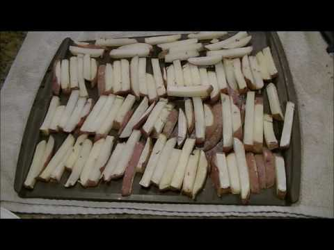 Preserving Potatoes- Homemade Fries