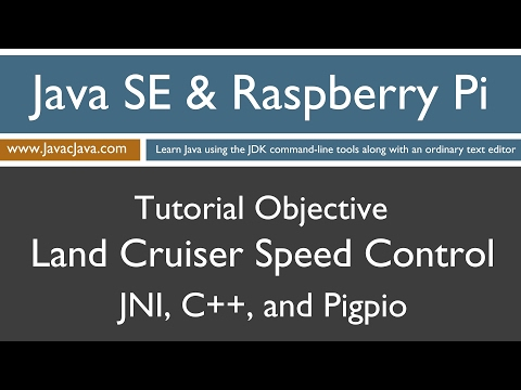 Java and Raspberry Pi Programming - JNI, C++, and pigpio Speed Control