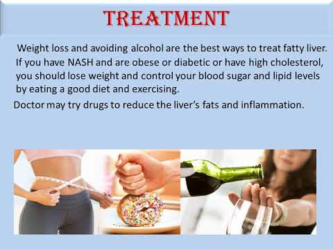 Managing your Fatty Liver