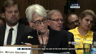 Tom Cotton questions Wendy Sherman; Iran Deal; 8-52-015