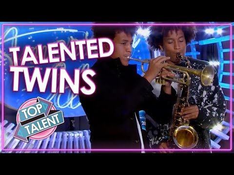 TWINS GOT TALENT | Best Twin Auditions From American Idol, Britain's Got Talent & more | Top Talent