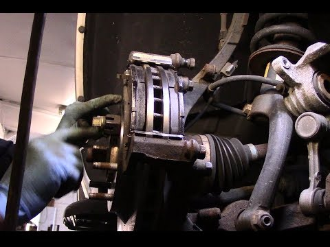 How to replace front and rear brakes 2005 Chevy Trailblazer