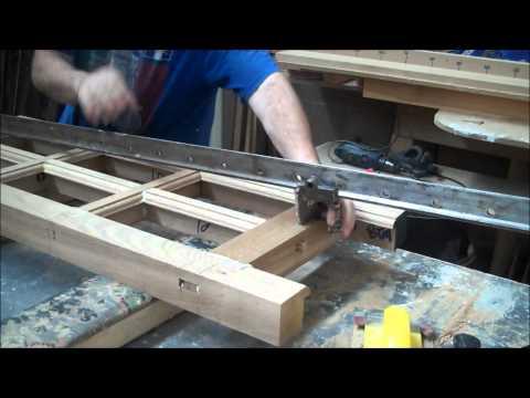 Oak window production