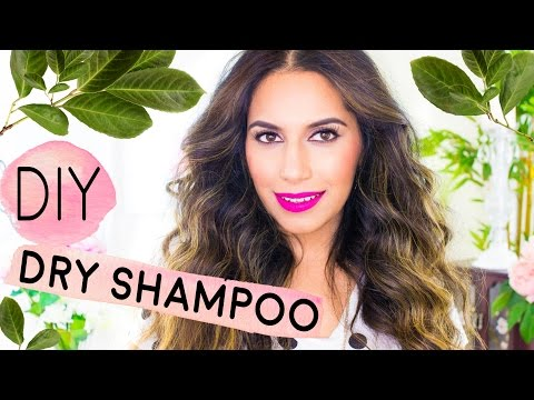 DIY Dry Shampoo for Light-Dark Hair (TINTED) Volume for Oily Hair (DIY Beauty) | Himani Wright