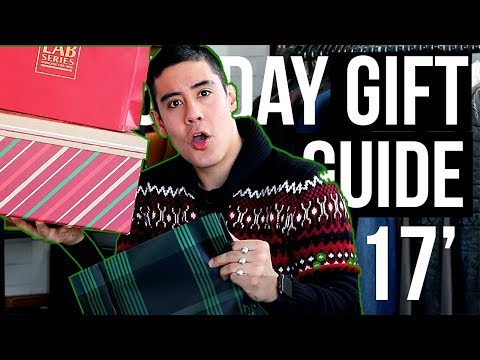 CHRISTMAS GIFT IDEAS FOR HIM 🎁 2017 [Fashion, Grooming, Fitness & Gadgets] | JAIRWOO