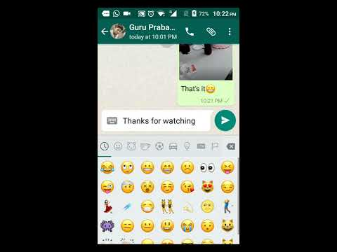 How to send .gif images on whatsApp [ 2016 Updated  Easy Way  ]