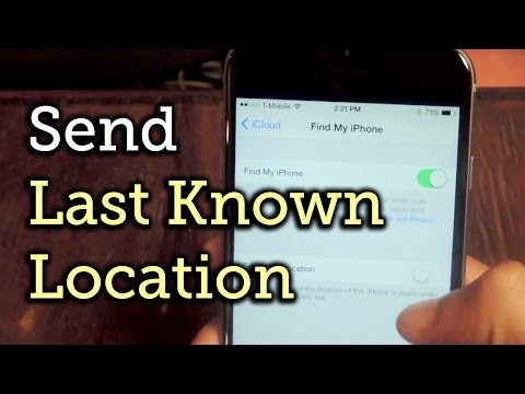 Make Your iPhone Send Its Last Location to iCloud Before the Battery Dies [How-To]