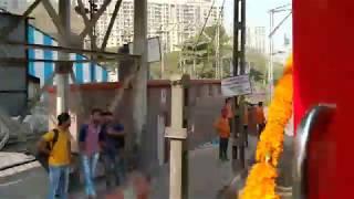 Raw Uncut Footage Of Ruthless 22221 Cr Rajdhani Skipping Bhandup | Inaugural Run