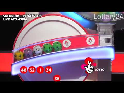 2018 05 19 UK lotto Numbers and draw results