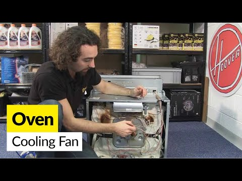 How to Change the Cooling Fan in a Oven