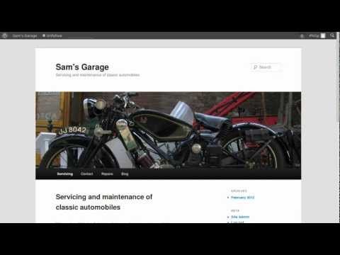 Change the header image in WordPress Twenty Eleven theme