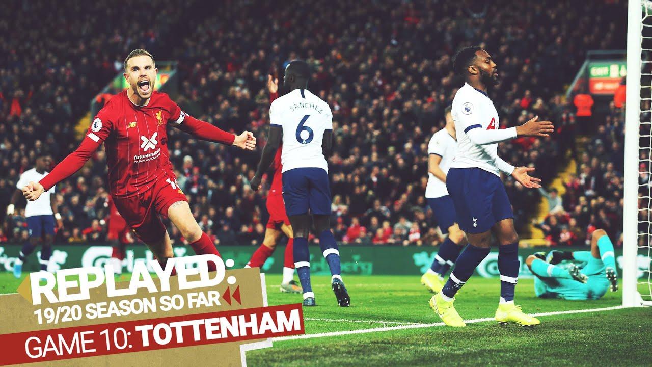 REPLAYED: Liverpool 2-1 Tottenham Hotspur   Henderson and Salah turn it round against Tottenham