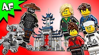 Lego Ninjago Movie: Temple of the Ultimate Ultimate Weapon 70617 Animation & Speed Build
