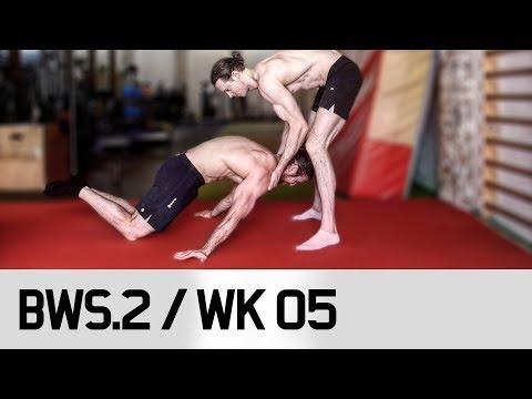 BEGINNER Exercises for Gymnastics Strength / STRONGER! BWS.2 / Week 05