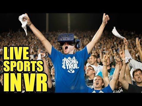 NOW ON VIVE AND OCULUS RIFT! WATCH LIVE SPORTS IN VIRTUAL REALITY! | NextVR