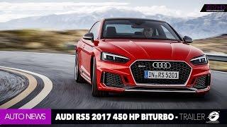 AUDI RS5 2018 V6 BiTurbo 450 HP - OFFICIAL TRAILER [GOMMEBLOG]