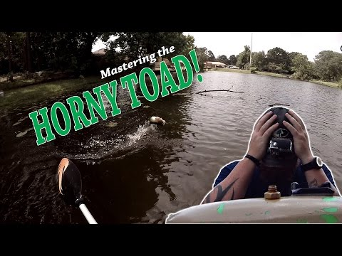 Mastering the Horny Toad....Topwater Bass Fishing