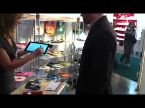 Mally Bibs Works It @OOAKToronto with the Payfirma Mobile Payment App