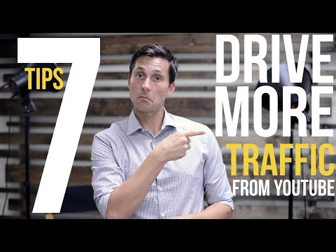 How to Increase TRAFFIC to Your Blog (or Website) with YouTube (7 Tips)