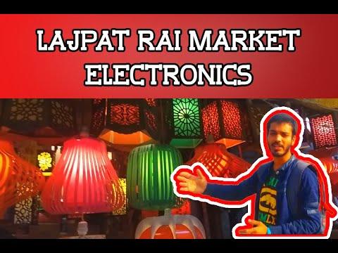 Lajpat rai market(New Delhi) : electronics