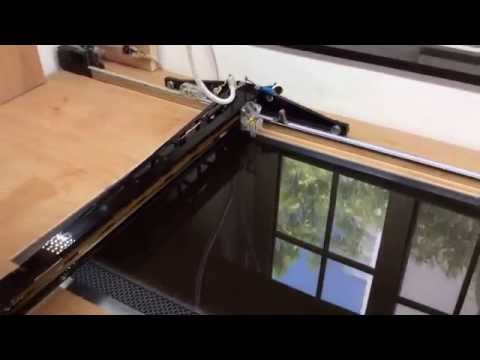 DIY laser cutter 50W, ~500 USD