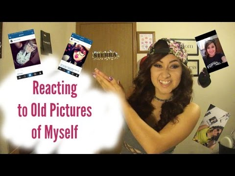 Reacting to Old Pictures of Myself