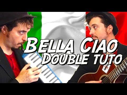 Bella Ciao (Casa de Papel Soundtrack/Thomas Fersen) - Tuto Guitare + Melodica