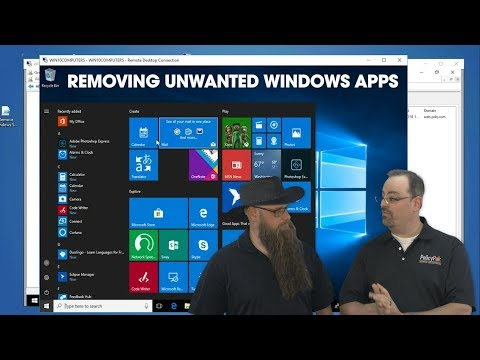 Removing Unwanted Windows Apps Using PolicyPak and PDQ Deploy
