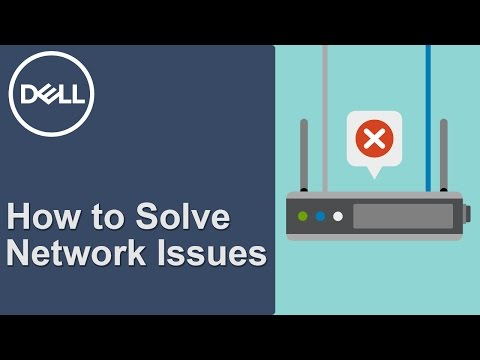Network Connection Problems  (Official Dell Tech Support)