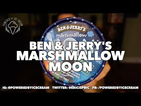 Ice Cream Review: Ben & Jerry's Marshmallow Moon