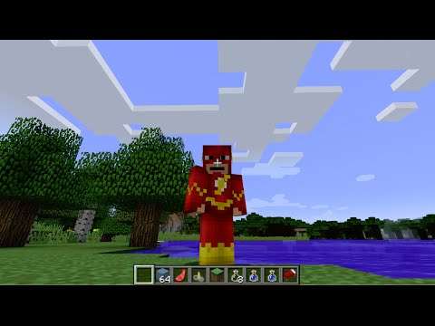 Minecraft: how to move as fast as flash - (minecraft move as fast as flash)