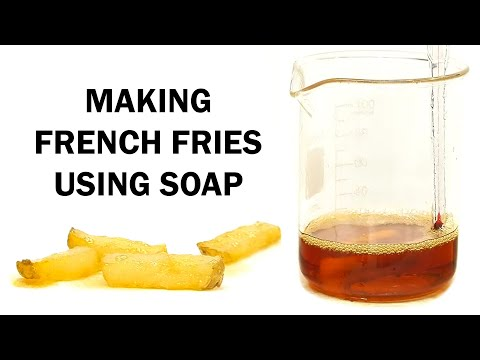 Converting Soap to Oil and Making French Fries (Attempt 1)