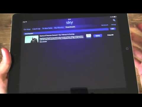 Downloading from Sky Go