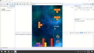 Eclipse Project - Source Code JAVA Game Tetris - Download & Import