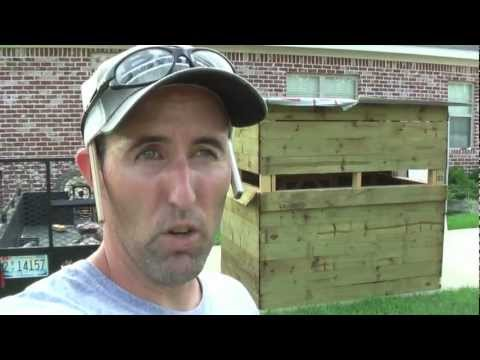 How To Build Box Blind Deer Stand Shooting House