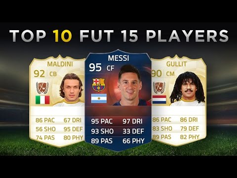 Top 10 Most Expensive FIFA 15 Ultimate Team Players   Messi, Maldini, Gullit!