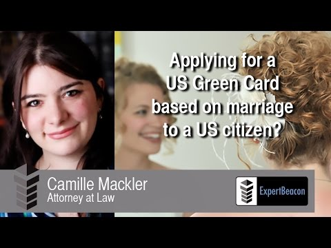 Applying for a US Green Card based on marriage to US citizen?