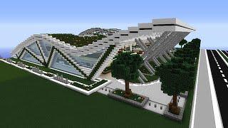 Minecraft Centre Commercial Par Manu Igloo Music Jinni