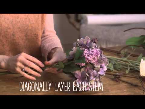 Craft Corner: How to make a faux flower bouquet
