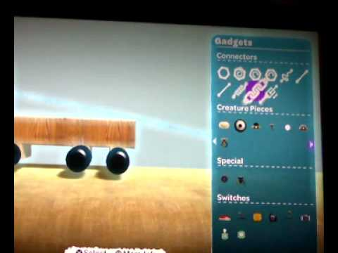 How to make a car in Little Big Planet