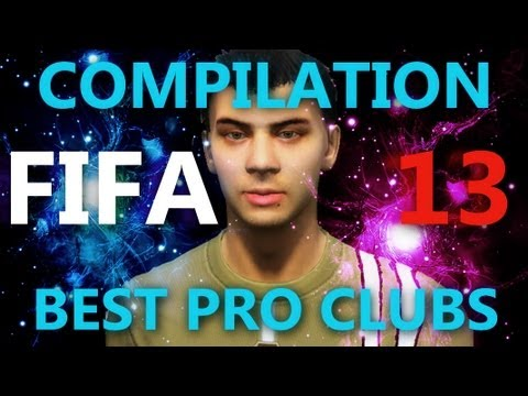 FIFA 13 BEST GOALS PRO CLUB SEASON EVER