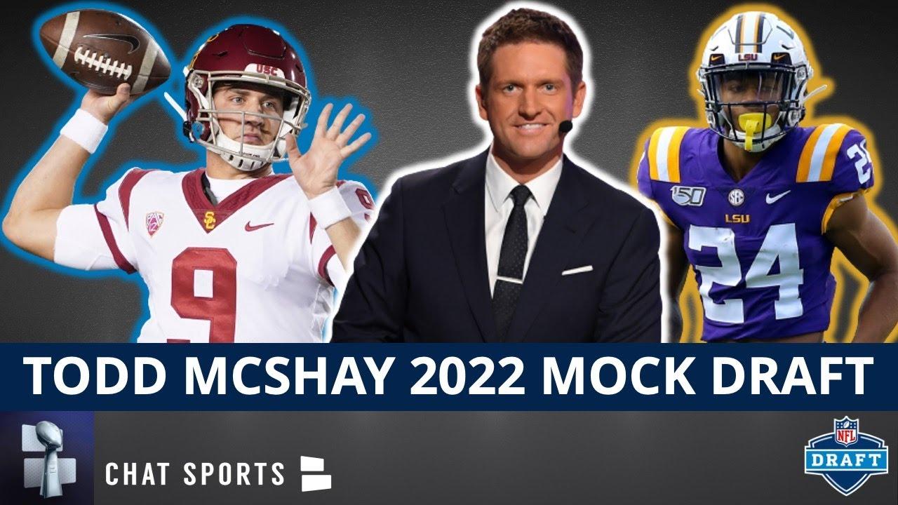 Todd McShay 2022 NFL Mock Draft   Way-Too-Early Round 1 Projections Ft Kedon Slovis & Derek Stingley