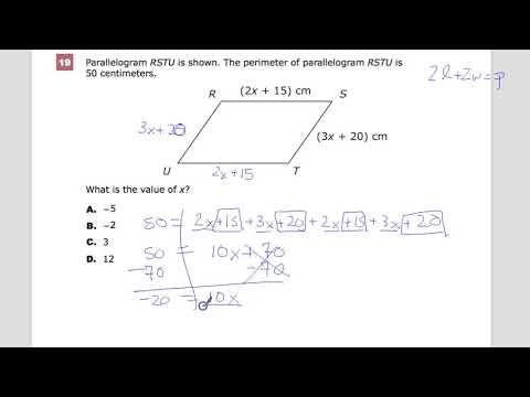 Question 19 - Geometry - TNReady Practice Test