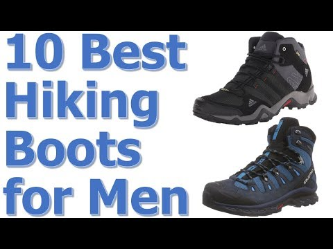 Top 10 Best Hiking Boots For Men Reviews || Best Hiking Boots 2017-2018