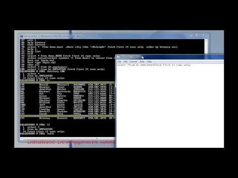 Oracle SQL Developer Meets SQL*Plus