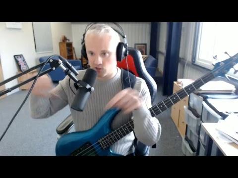 Talkingbass Live Stream - Four Finger Picking